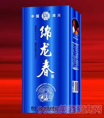 绵龙春蓝聚星42°500ml酒