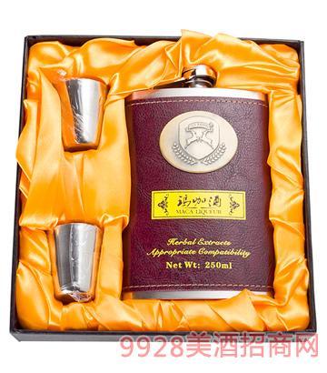牛皮钢壶玛咖酒250ml35度