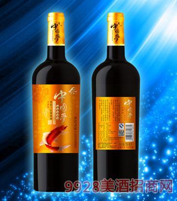 中国梦惠恩干红葡萄酒
