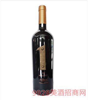 安缇加尔1号马尔贝克葡萄酒