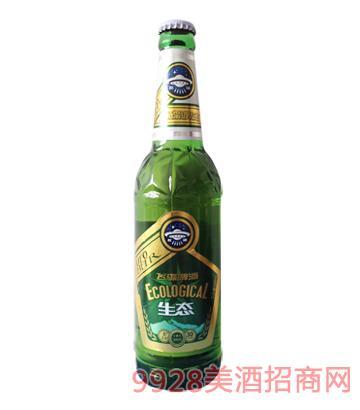 飞碟啤酒生态啤酒