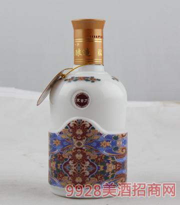 珐琅彩草原烈马 500ml 56度酒