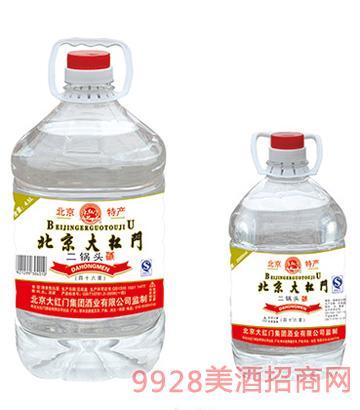 91北京大红门二锅头46度4500mlx4 2000mlx6酒