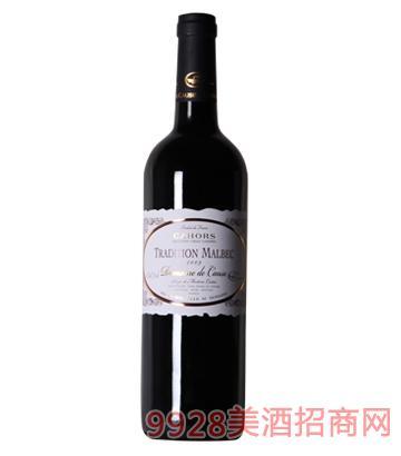 馬爾貝克紅葡萄酒12%vol750ml