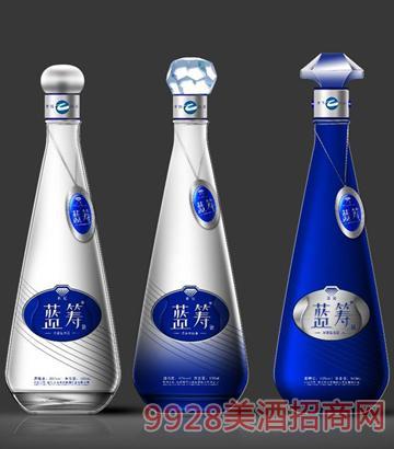 蓝筹王冠系列酒瓶