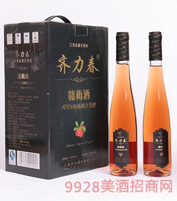 齐力春赣梅酒375ml