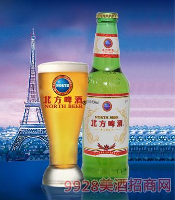 500ml北方佳人啤酒绿瓶