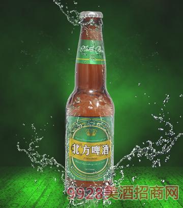 330ml北方啤酒绿色畅想棕瓶