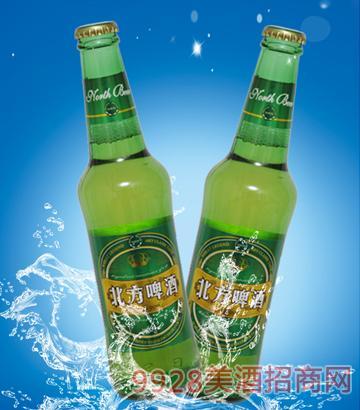 330ml8度北方啤酒绿色畅想绿瓶