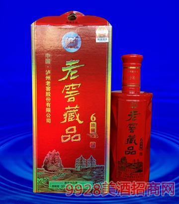 老窖藏品珍藏6 38度500ml酒