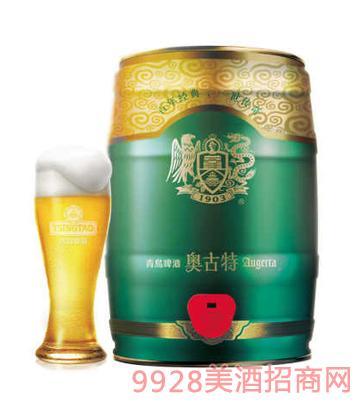 青�u啤酒�W古特金樽5L�Y盒