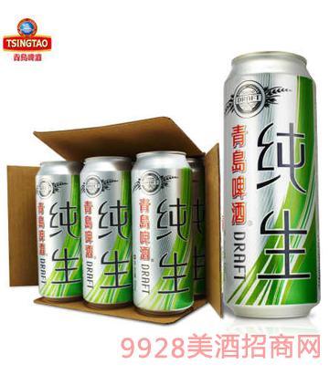 青�u啤酒�生500ml