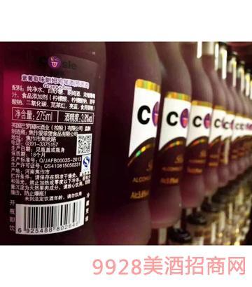 紫葡萄味朗姆鸡尾酒(预调酒)
