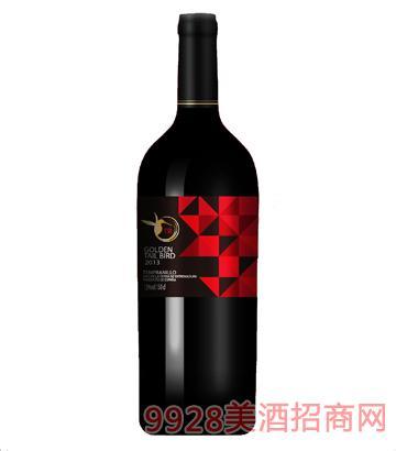 金尾鸟干红葡萄酒