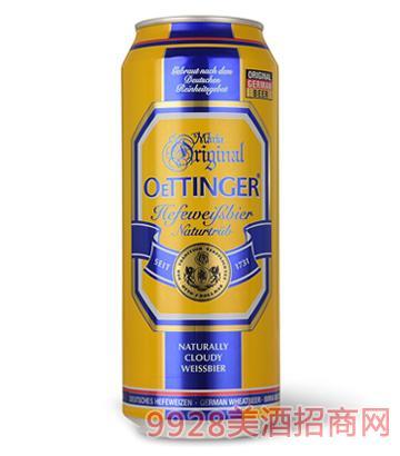 德国奥丁格小麦啤酒500ML