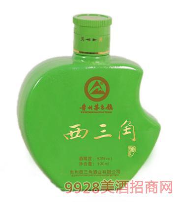 小苹果(6号)53度100ml酒