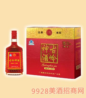 500ml古岭神酒(精品双瓶礼盒)35%vol