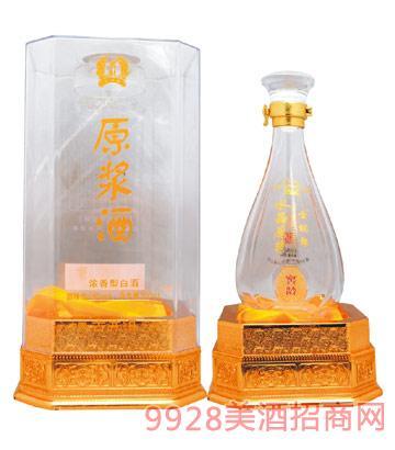 皖郎酒业水晶原浆酒42度500ml