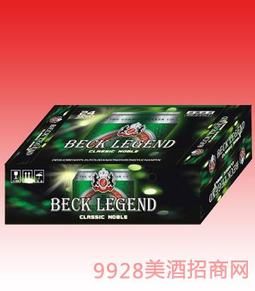 貝克傳奇330ml 1x24啤酒