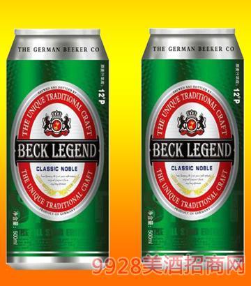 貝克傳奇啤酒500mlx12