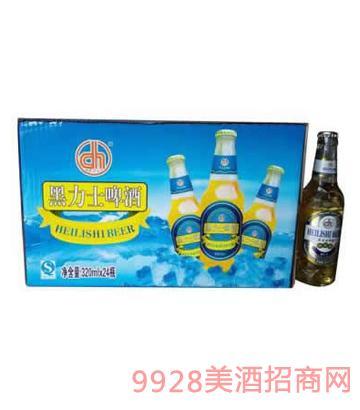 黑力士劲爽啤酒320ml×2