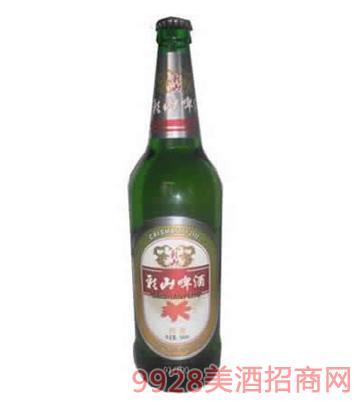 彩山啤酒劲爽