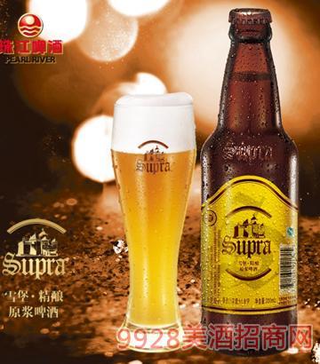 珠江啤酒雪堡精酿原浆啤酒300ml