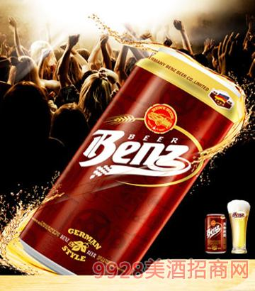 SBenz奔驰啤酒原浆易拉罐