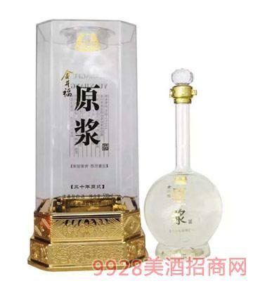 金井福原浆酒30年52度500ml浓香型