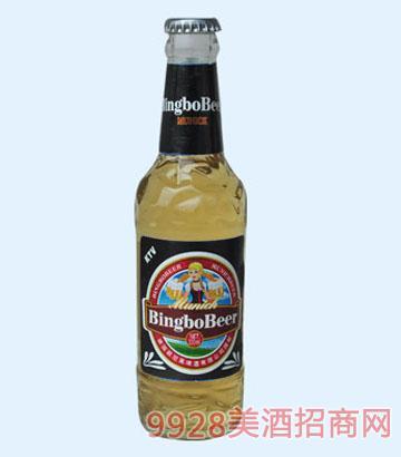 330ml冰铂纯生态啤酒
