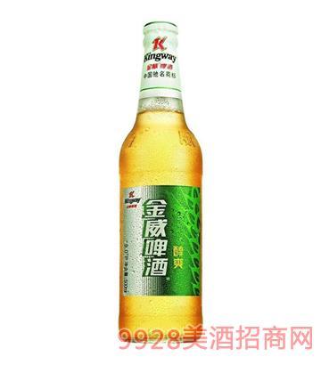 金威啤酒500ml醇爽