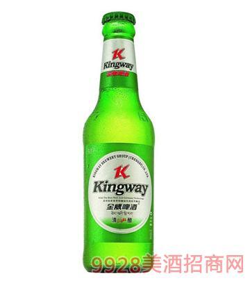 金威啤酒330ml清醇