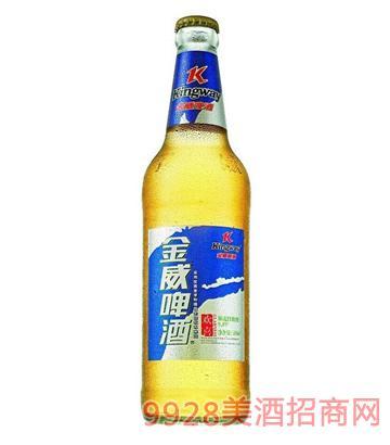 金威啤酒330ml欢喜清醇