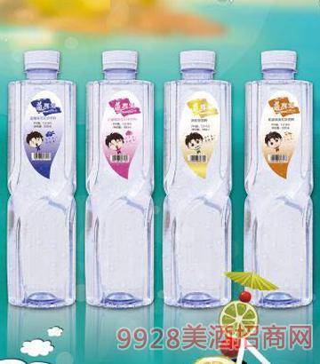 益身堂水果味苏打水饮料系列