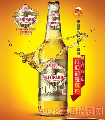 LEOPARD捷豹500ml劲纯啤酒