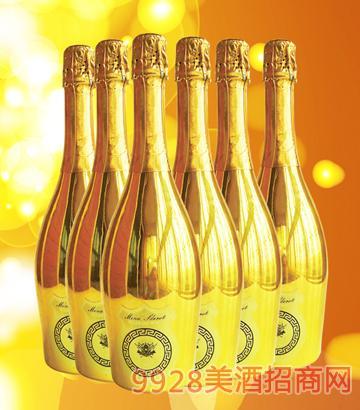 麦咖伦起泡酒香槟金色多