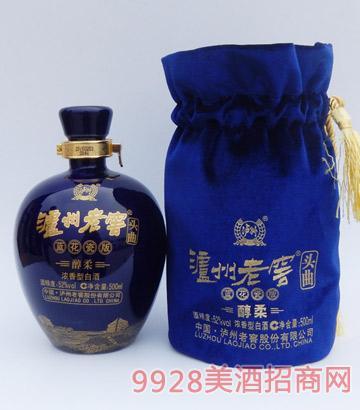 泸州老窖集团-蓝花瓷酒