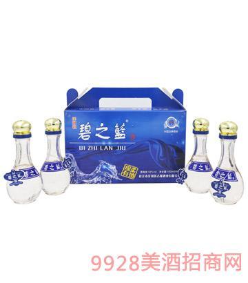 碧之藍小禮盒100mlX4酒