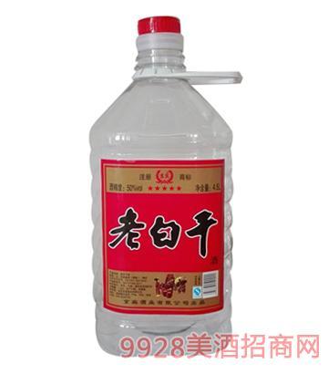 京宾老白干酒50°4.5L