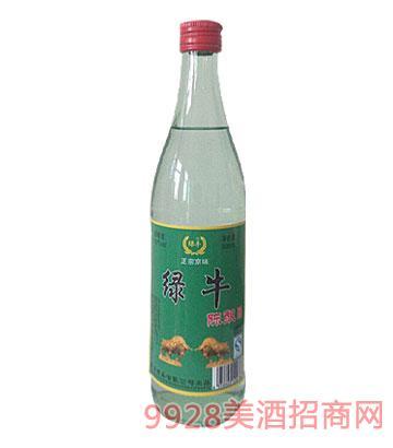 绿牛陈酿酒42°500ml