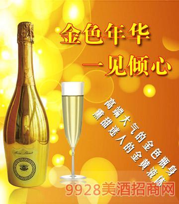 麦咖伦起泡酒金色年华