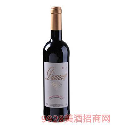 钻石埃罗干红葡萄酒