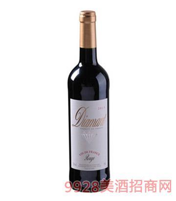 钻石干红葡萄酒