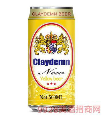 克莱德曼黄啤酒500ml
