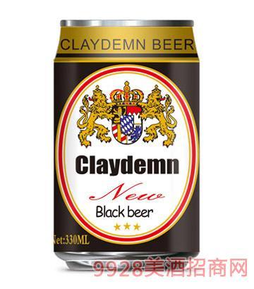 克萊德曼黑啤酒330ml