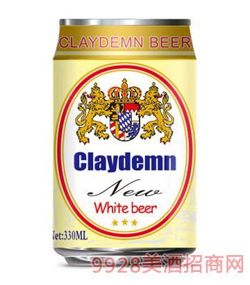 克莱德曼白啤酒330ml