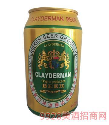 喜力啤酒黄啤酒325ml