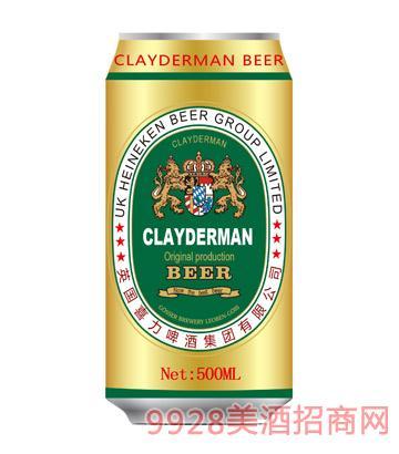 喜力啤酒黑啤酒金色500ml