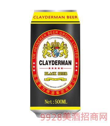 喜力啤酒黑啤酒500ml