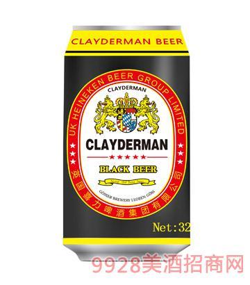 喜力啤酒黑啤酒330ml